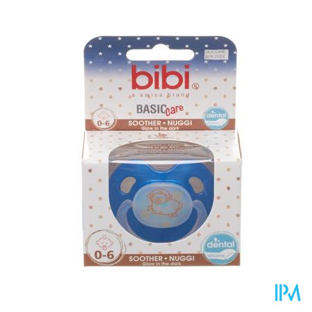 Bibi Fopspeen Basic Care Glow 0-6M