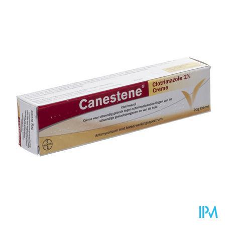 Afbeelding Canestene Clotrimazole 1% Crème tegen Schimmel aan de Uitwendige Geslachtsorganen en Huid.