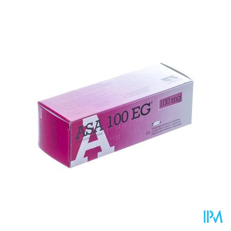 Asa 100 Eg Maagsapresistente 100 mg 84 tabletten