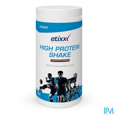Afbeelding Etixx High Protein Shake met Chocoladesmaak 1 kg.