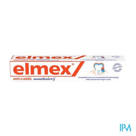 Elmex Tandpasta Mentholvrij 75 ml