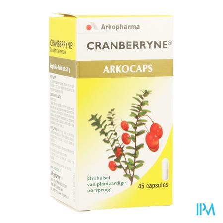 ArkoCapsule Cranberryne Plantaardig 45  -  Arkopharma
