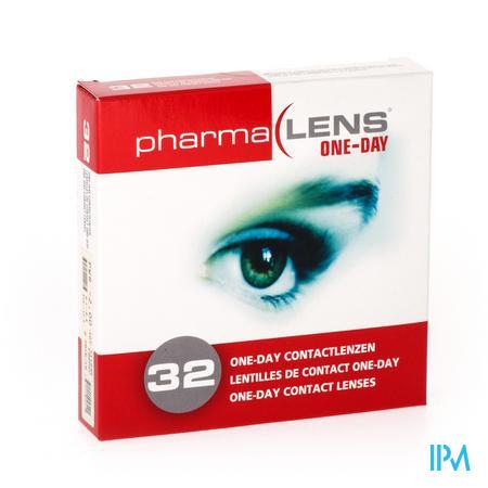 PharmaLens lentilles (jour/24 heurs) (Dioptrie: -2.00) 32 lentilles