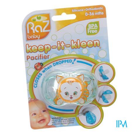 Raz Baby Fopspeen Kit Kitty 1 stuk