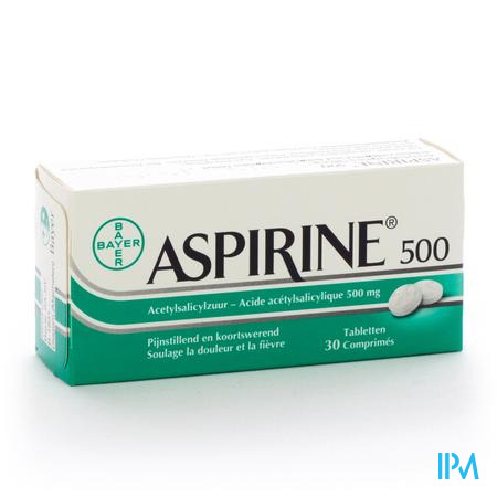 ASPIRINE 500 MG COMP  30