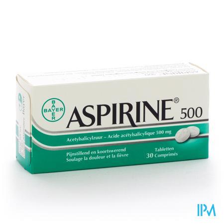 Aspirine 500mg 30 tabletten