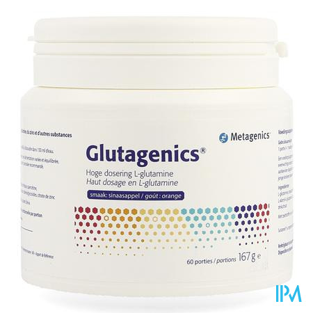 Glutagenics Nf Pdr Portion 60 22870 Metagenics