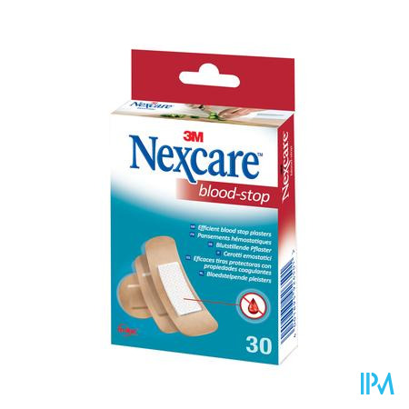 Nexcare 3m Bloodstop Assorted 30 N1730as