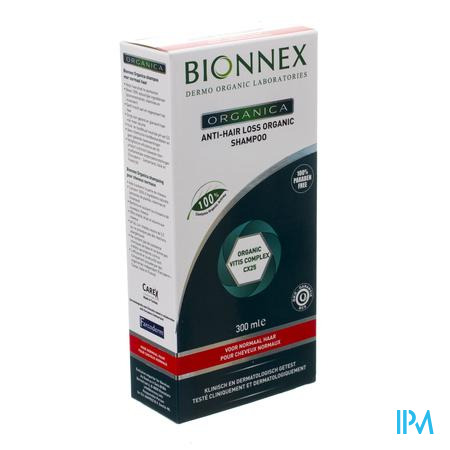 Bionnex Organica A/hair Loss Sh Normaal Haar 300ml