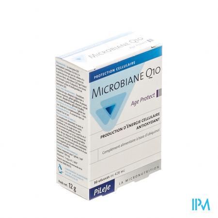 Microbiane Q10 Ubiquinol Gel 30x428 mg  -  Pileje