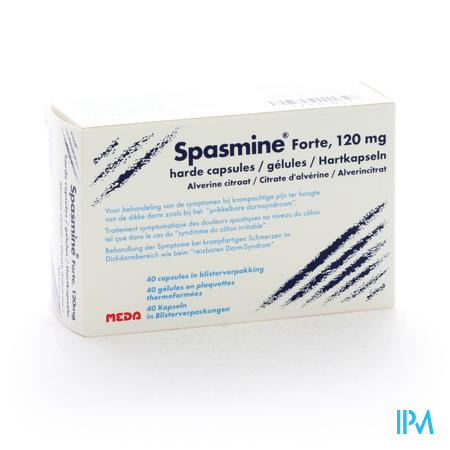 SPASMINE FORTE 120MG 40CAPS
