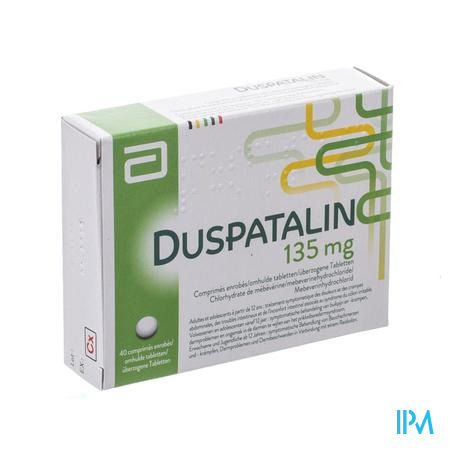 Duspatalin Drag 40 X 135mg