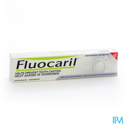 Fluocaril Actief Wit 125 ml