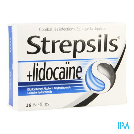 Strepsils + Lidocaine Pastille 36