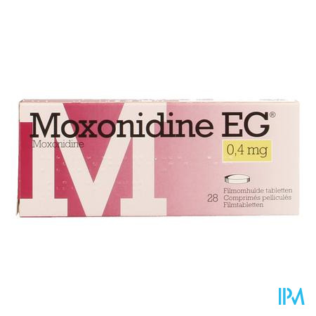 Moxonidine Eg Comp. 28 X 0,4mg
