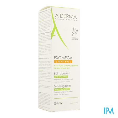 Afbeelding Aderma Exomega Control Kalmerend Bad tegen Krabben voor Droge Huid met Neiging tot Atopie 250 ml.