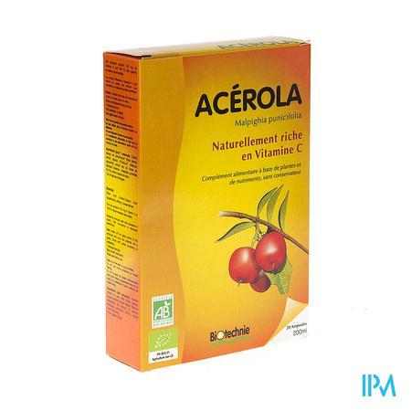 Acerola Bio 20 x 10 ml ampoules