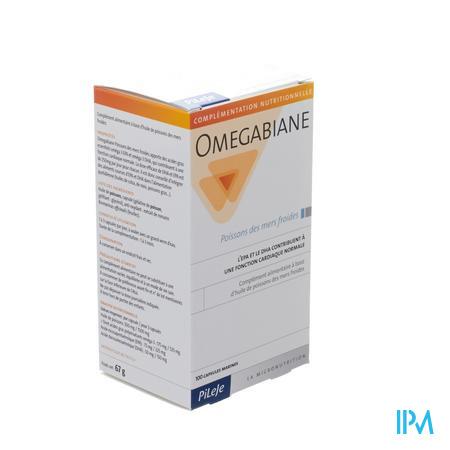 Omegabiane Huile De Poisson 100 capsules