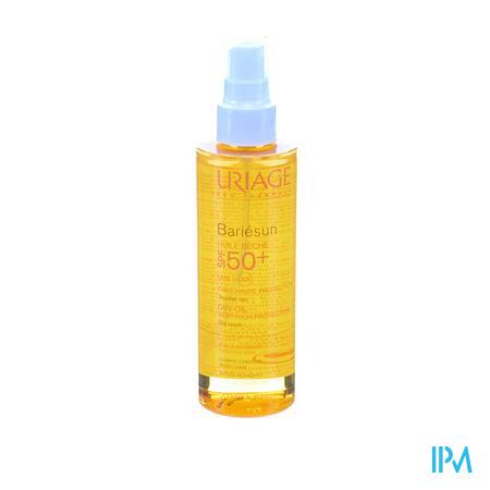 Afbeelding Uriage Bariésun Droge Zonne-Olie SPF 50+ voor Lichaam Spray 200 ml.