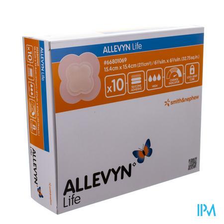 Allevyn Life 15,4x15,4cm 1069 10 stuks