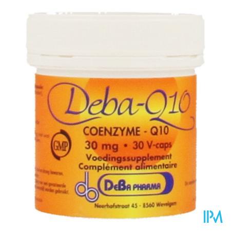 Coenzyme Q10 Capsule 30x30 mg Deba