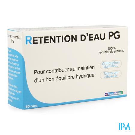 Waterretentie Pg Pharmagenerix Caps 60