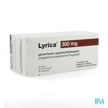 Lyrica 300mg Pi Pharma Harde Caps 56 X 300mg Pip