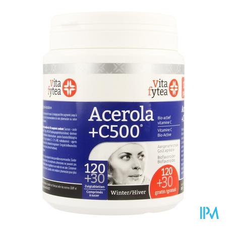 Vitafytea Acerola+ Vit C 150 zuigtabletten