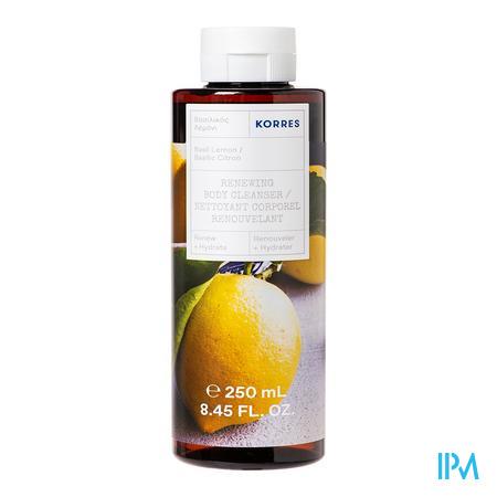 Korres Kb Santorini Grape Showergel Body Cl. 250ml