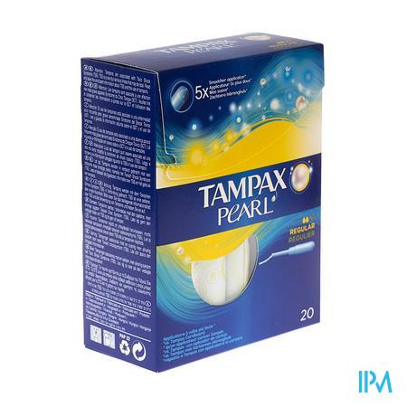 Tampax Pearl Regular 20 stuks