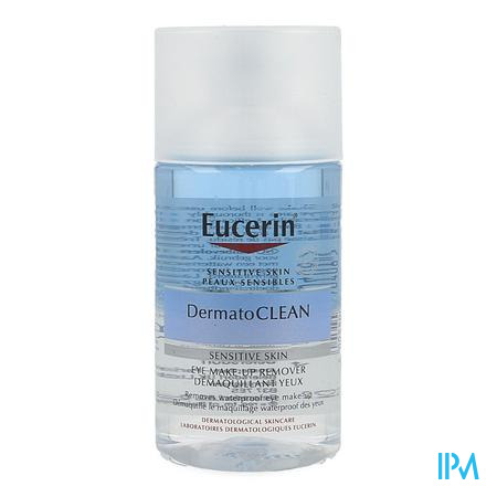 Eucerin Dermatoclean Hyaluron Oogreinig. 125ml Nf