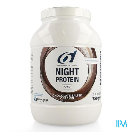 6d Sixd Night Protein Chocolate Salted Caramel780g