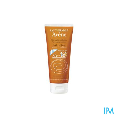 Avene Zonnemelk Kind Factor 50+ Tube 100 ml