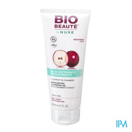 Afbeelding Nuxe Bio Beauté Evenwichtsherstellende Reinigingsgel voor Gelaat voor Gemengde Huid 200 ml.