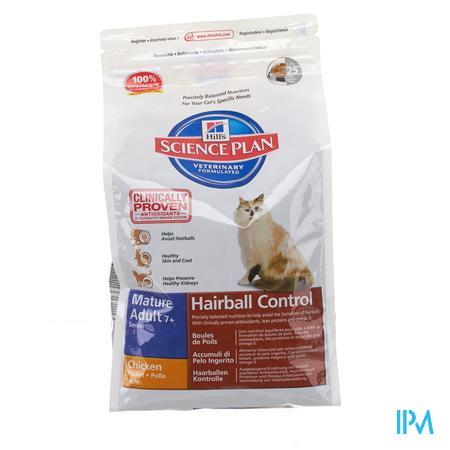 Hills Sc.plan Feline Hairball Control Senior 1,5kg