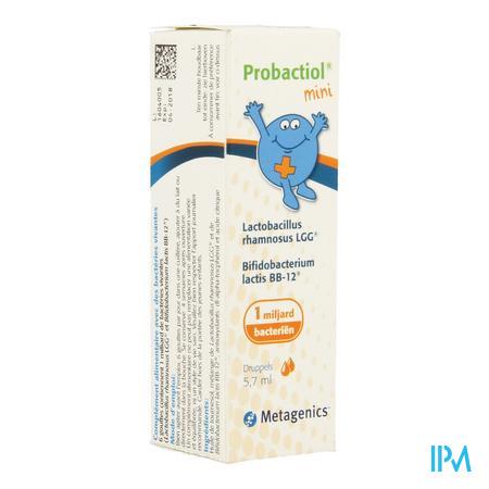 Afbeelding Probactiol Mini Druppels 5,7 ml.