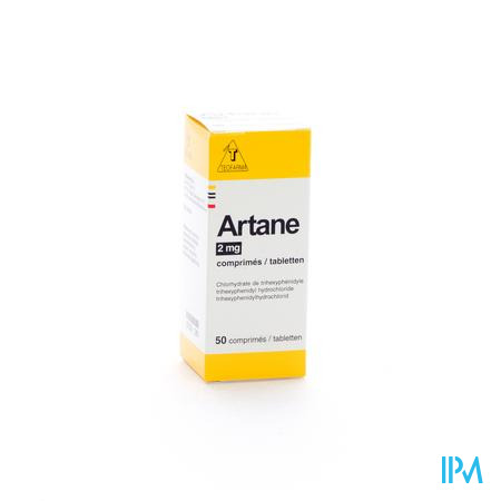 Artane 2mg Flacon Comp 50 X 2mg