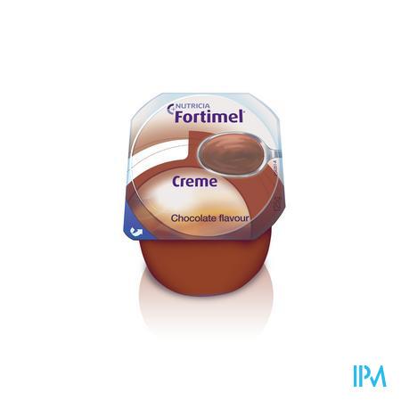 Fortimel Creme Chocolat 4x125 gr  -  Nutricia