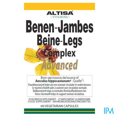 Altisa Benen Complexe Advanced V-caps 60