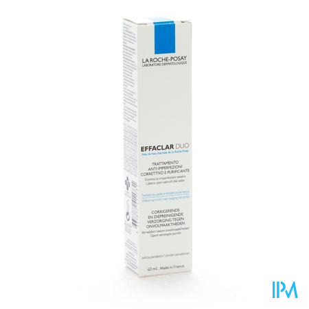 Farmawebshop - LRP EFFACLAR DUO 40ML + GEL 125ML