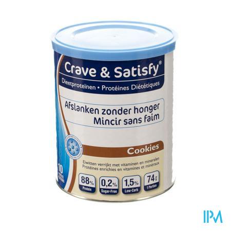 Crave & Satisfy Protéines Diététique Cookies 200 g