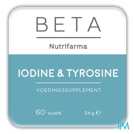 Beta Iodine & Tyrosine V-caps 60