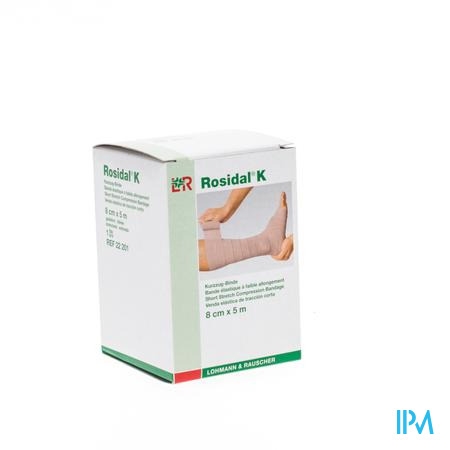 Rosidal K Elastische Windel 8cmx5m 22201