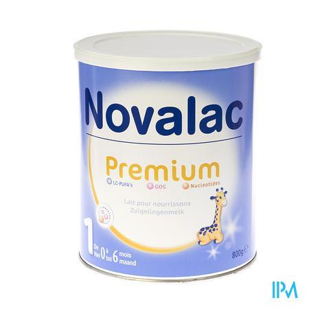 Novalac Premium 1 Lait Nourrissons 800 g