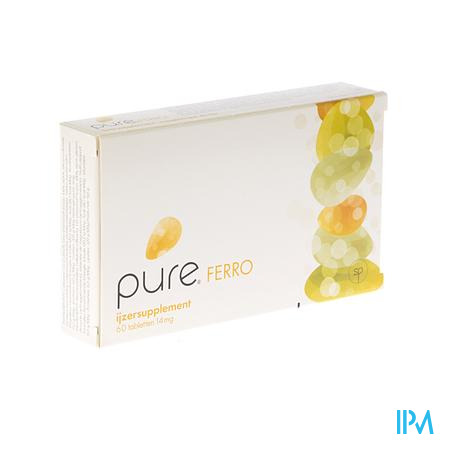 Pure Ferro 60 tabletten