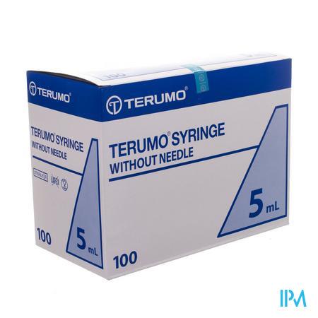 Terumo Wegwerpspuit 5ml Zonder Naald Luer ss-05se1 100 stuks