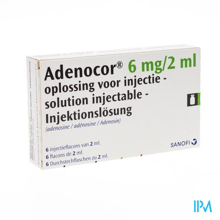 Adenocor Amp 6x2 ml