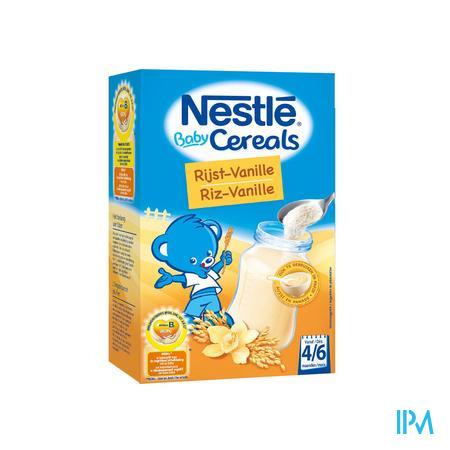 Afbeelding Baby Cereals Rijst-Vanille 250g.