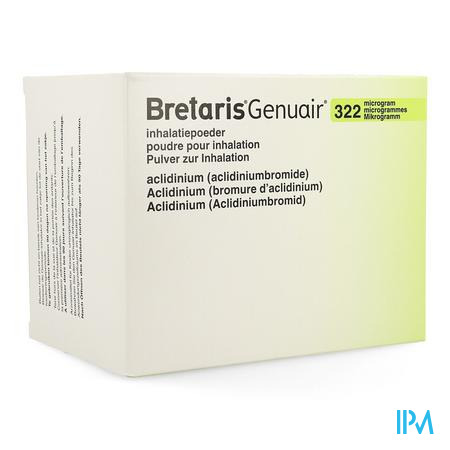 Bretaris Genuair 322mcg Inhal Poeder 3x60 Dosis