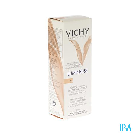 Vichy Lumineuse Peaux Normale/Mixte Claire 30 ml tube